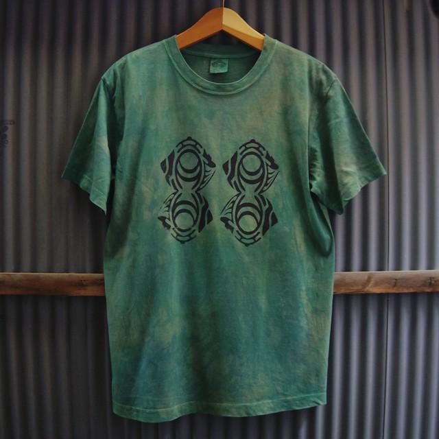 "TKHOME FACTORY ""ORIGINAL LOGO"" 後染め Organic Cotton T-shirt M"
