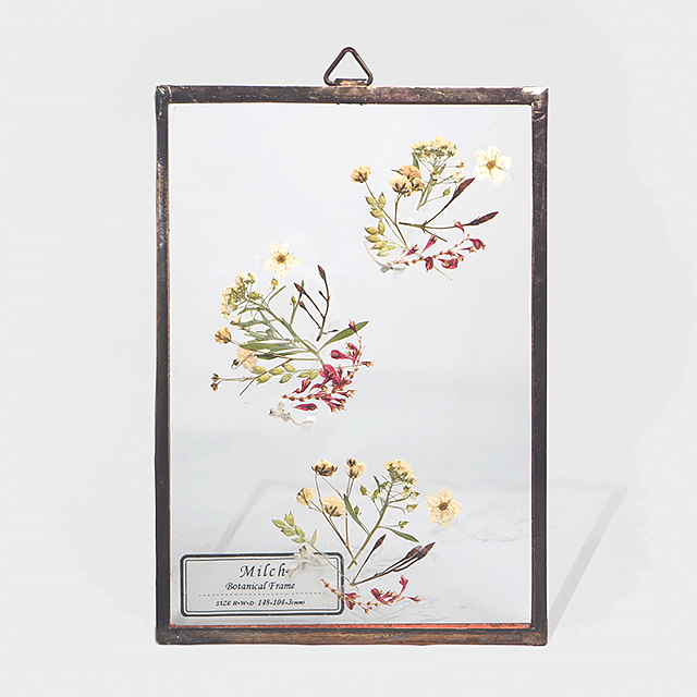 Botanical Frame S013(A_Gold)