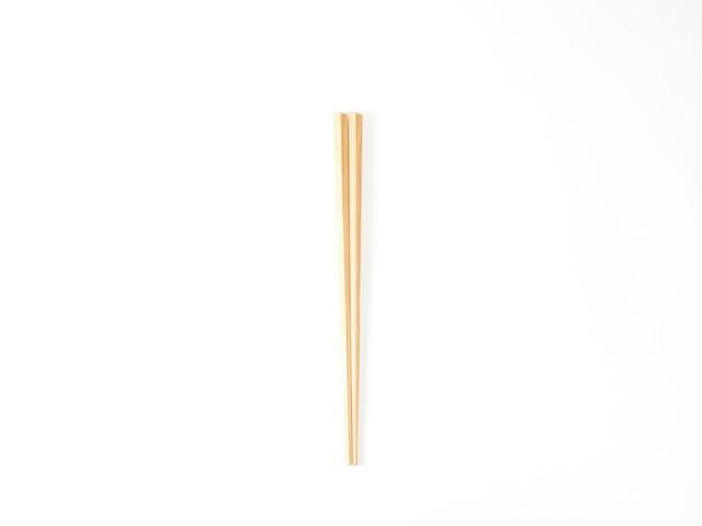 プラム工芸|斧折樺の五角箸|20cm
