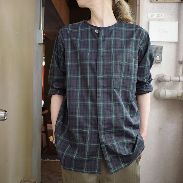 QUILP (クイルプ) GADD ノーカラーシャツ