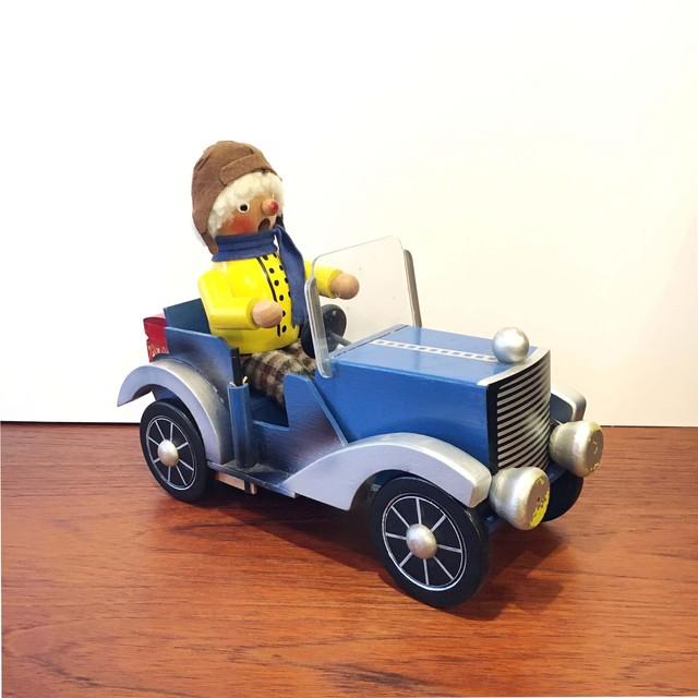 ドイツ 煙出し人形 REUGE/リュージュ オルゴール動力車
