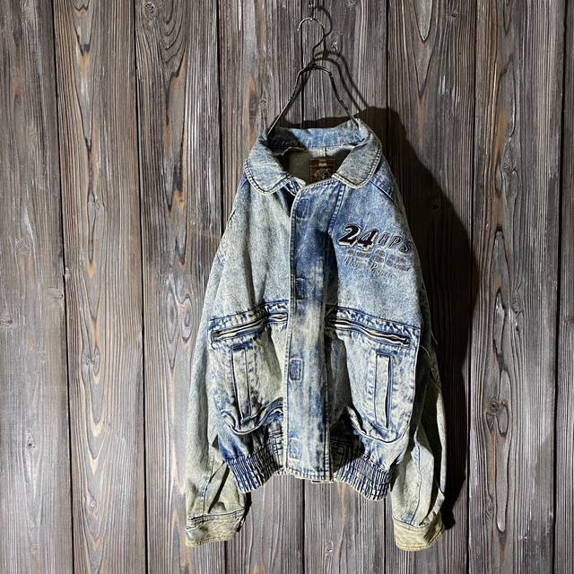 [used]vintage 24HPS design denim jacket