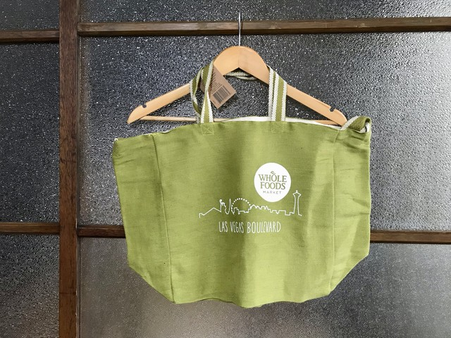 WHOLE FOODS LAS VEGAS 2WAY TOTE BAG (OLIVE)