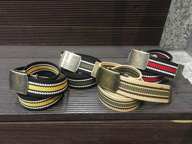 Nobrand|Line Long Belt 【re:stock】