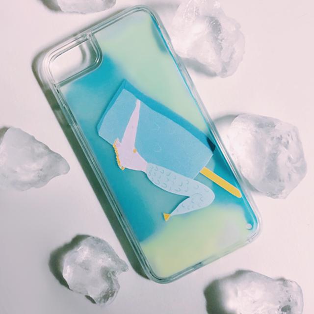 【XR対応】アイスべき人魚ネオンカラーサンドケース