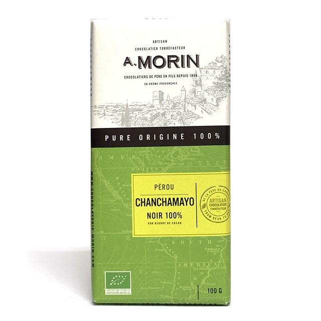 ショコラトリーモラン ペルー チャンチャマイヨ100%