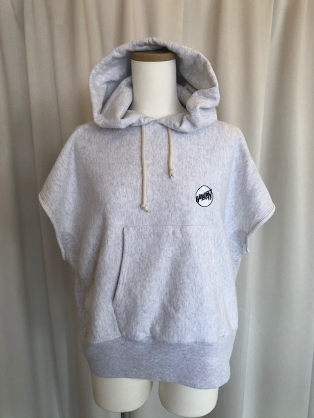HOLIDAY-ULTRA HEAVY CUT OFF HOODIE