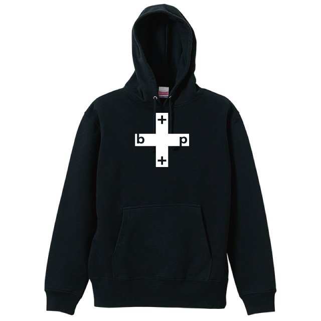 Cross Box Hoodie (Black)