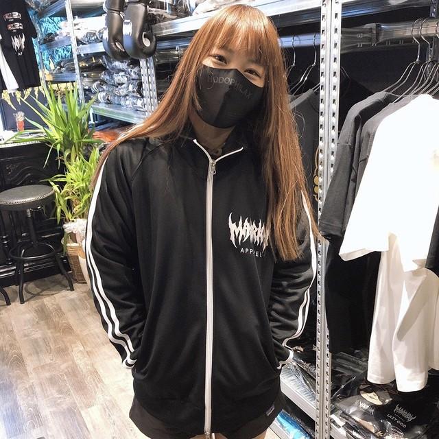 着る人を選ぶジャージ上(黒×白)