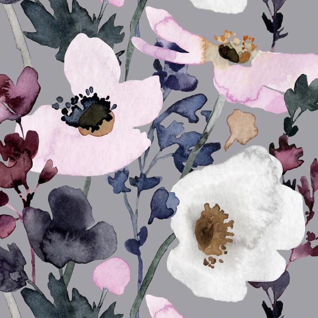 【PENTIK】バラ売り1枚 ランチサイズ ペーパーナプキン Anemone ピンク