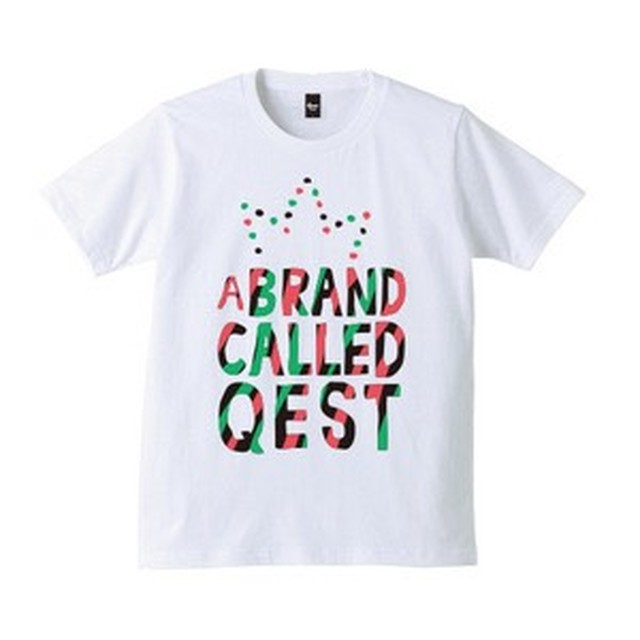 A Brand Called Qest T-shirt / White - メイン画像