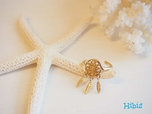 Dreamcatcher Ring☆Gold