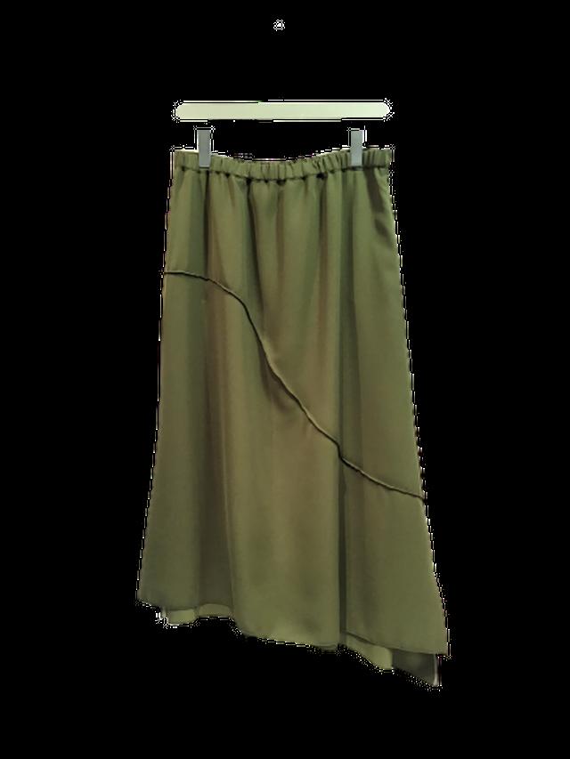 【各色ラスト1点】ポイントメロウ Aラインスカート【294-5106】