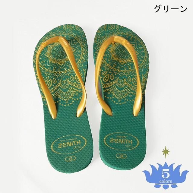 サンダル マンダラ Flip Flops Mandala