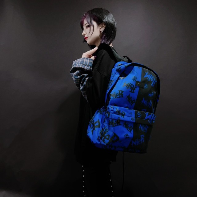 NieR TWO-TONE 大容量BACKPACK【BLUE×BLACK】