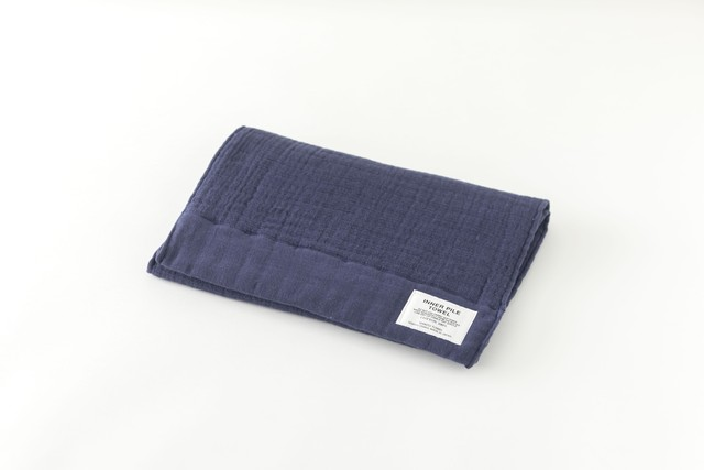 INNER PILE TOWEL : FACE TOWEL (Navy) / SHINTO TOWEL