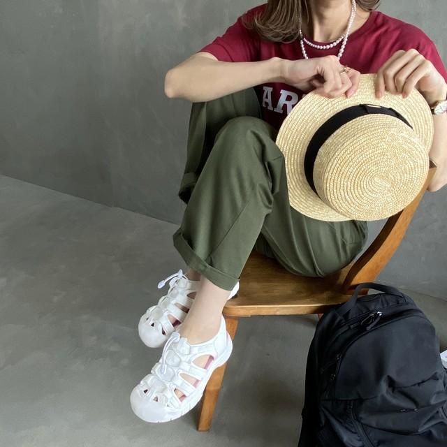 volume sport sandal 【white】