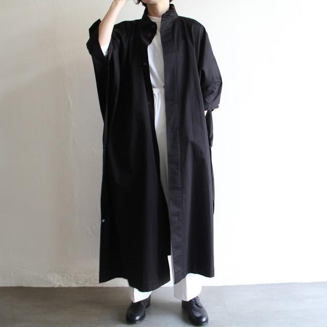 STILL BY HAND【womens】ventile soutien collar coat