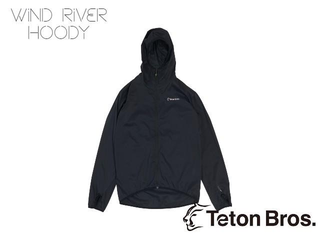 【teton bros】 MS Wind River Hoody BLK (Black)