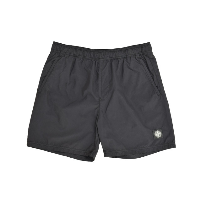 Stone Island Nylon Shorts Black 7015B0946