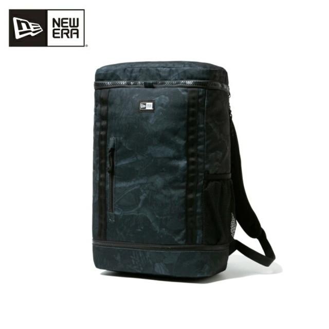 ニューエラ NEW ERA リュック メンズリュック デイパック ボックスパック ボックスパック 32L ナイトツリーカモ / ブラック