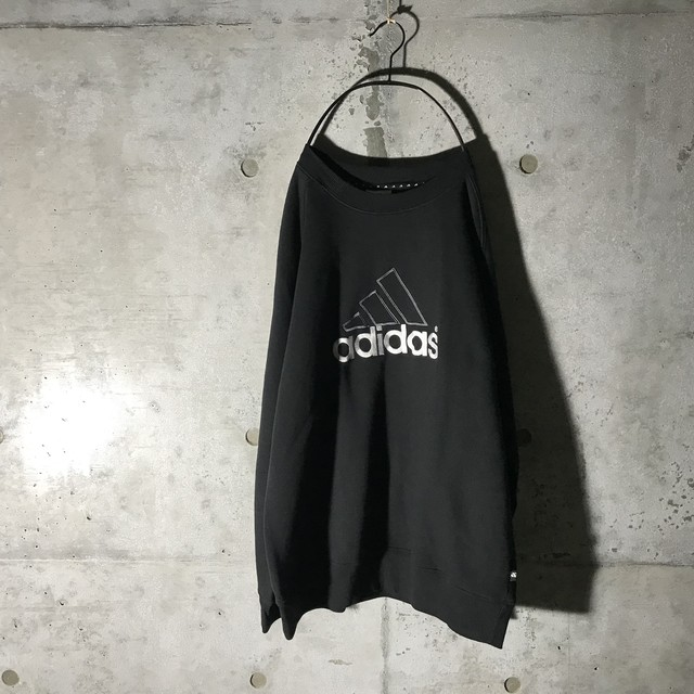 [adidas] center logo pointed sweat