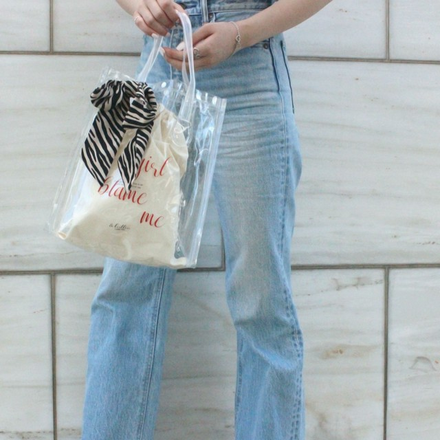 【lottie made】pvc clear bag (S19-08020O)