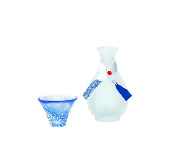 招福杯 「富士山酒器セット」 45SP26‐09  *丸モ高木陶器* お酒をより楽しむためのおしゃれな酒器!