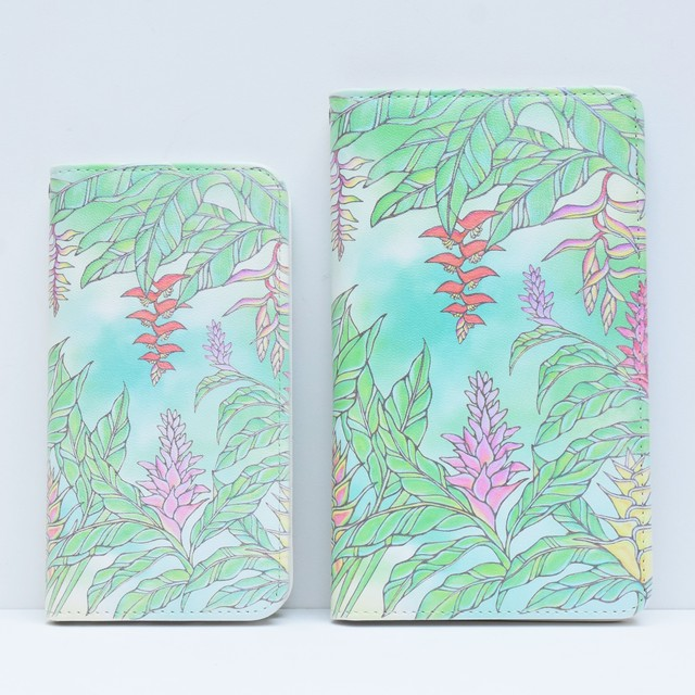 iPhone6/7 wood case [Plumeria Lei]【KNGD-0057】