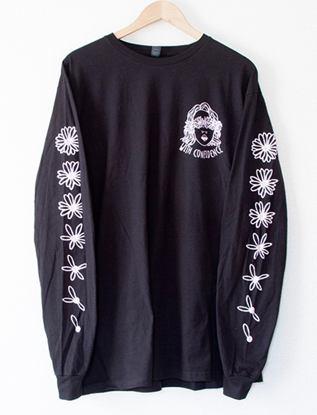 【WITH CONFIDENCE】Daisy Long Sleeve (Black)