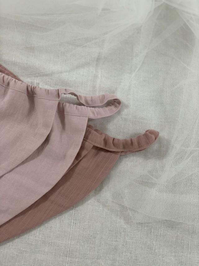 asagoromo*ゴムタイプ pink2枚set
