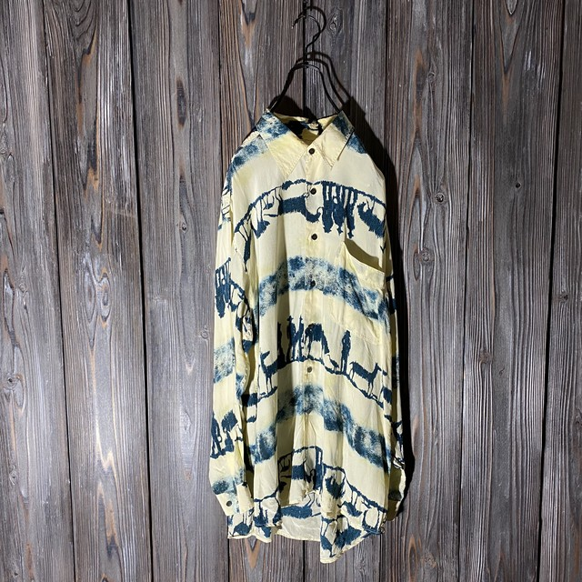 [used]like farm designed shirt