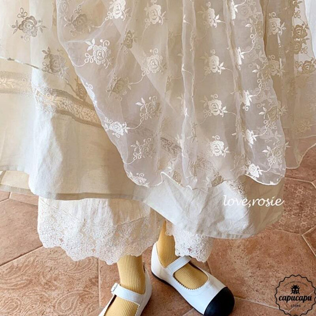 «sold out» love,rosie vintage lace skirt ヴィンテージレーススカート