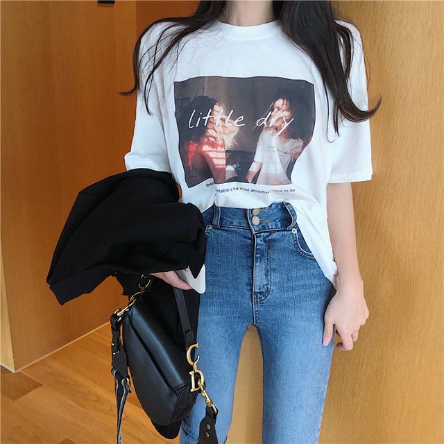 リトルディプリントTシャツ 2156