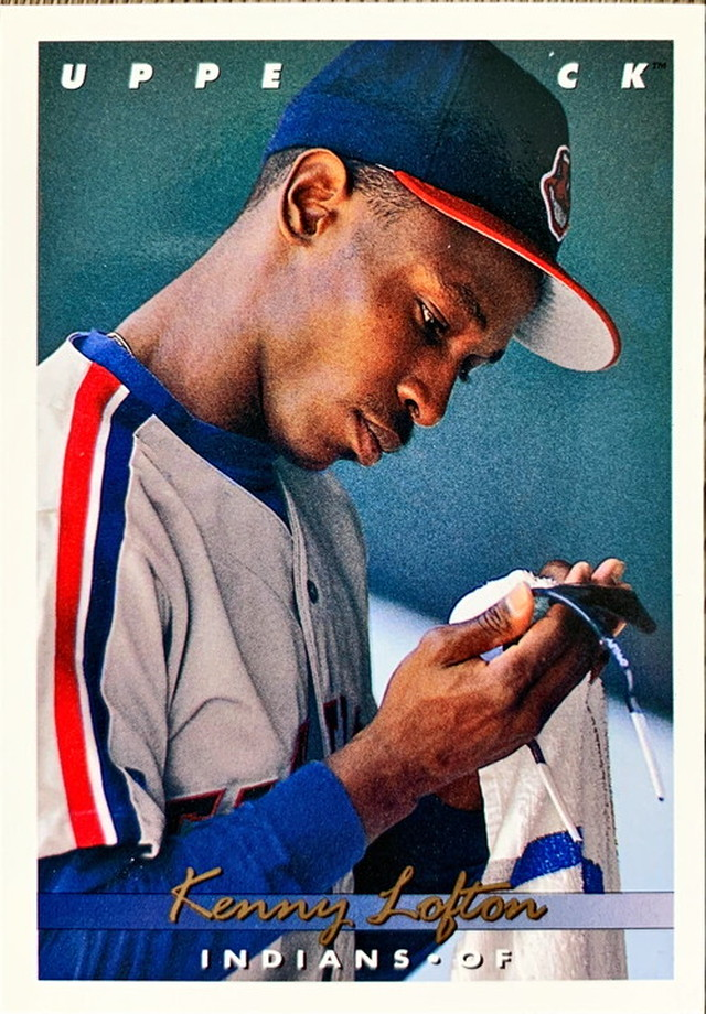 MLBカード 93UPPERDECK Kenny Lofton #262 INDIANS