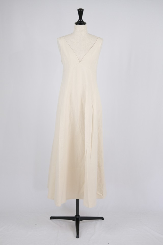 【Eicayoshinari】washi/cotton dress - yellow