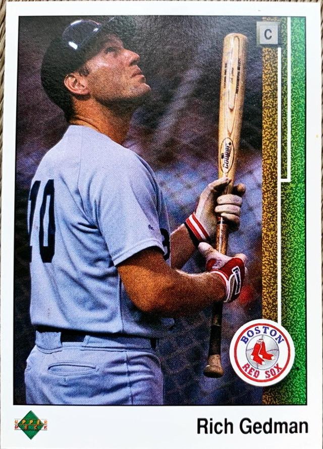 MLBカード 89UPPERDECK Rich Gedman #368 RED SOX