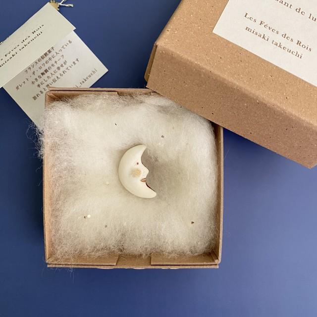 Croissant de lune (クロワッサンと三日月) misaki takeuchi ハンドメイドフェーヴ/mt0043