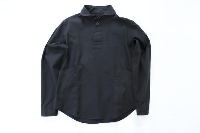 LOLO【ロロ】プルオーバーシャツ ブラック