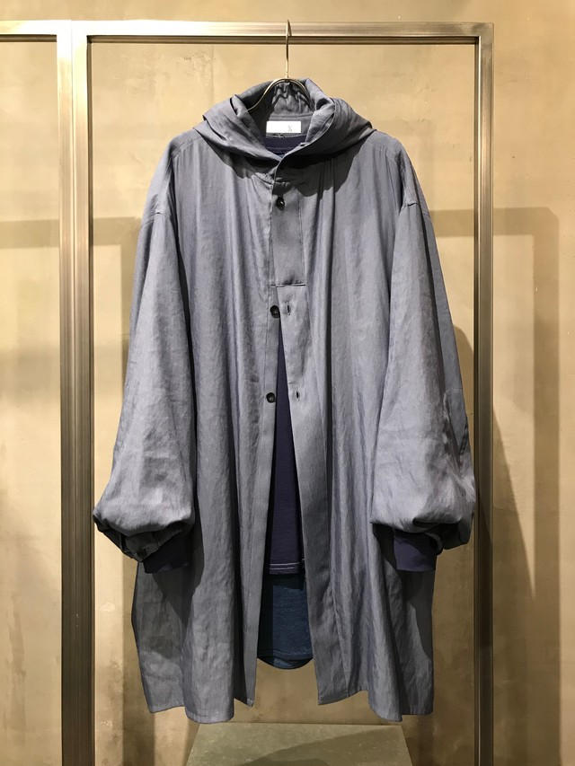 T/f chambray twill snow camo parka - cloud dark sky