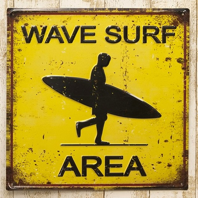 サインボード [LPWS0001] WAVE SURF AREA