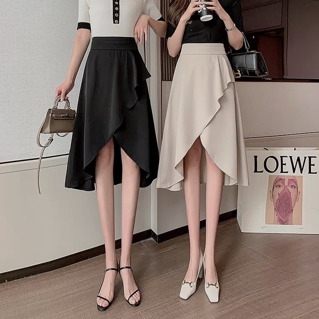 tulip frill skirt 2color