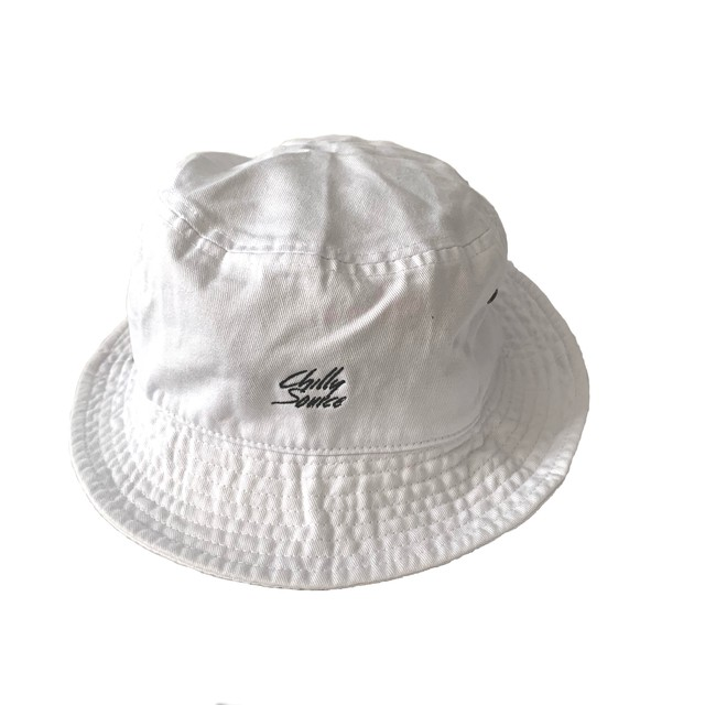 Chilly Source logo Bucket Hat【White】