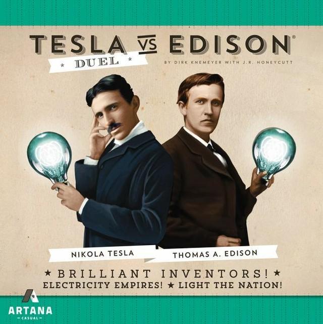 テスラvsエジソン Duel (Tesla vs. Edison: Duel) 和訳説明書・シール付き