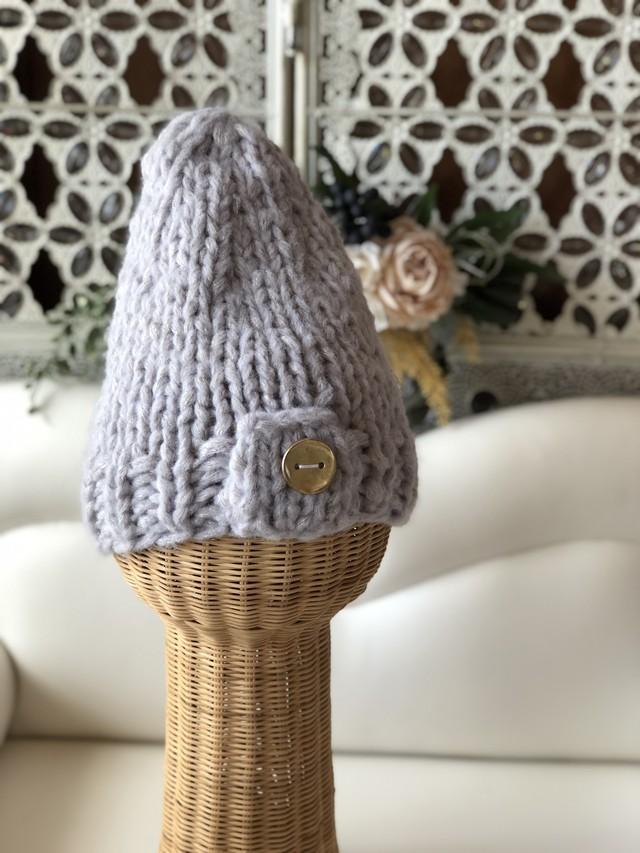 COCOLIO ハンドメイド コクーンニット帽