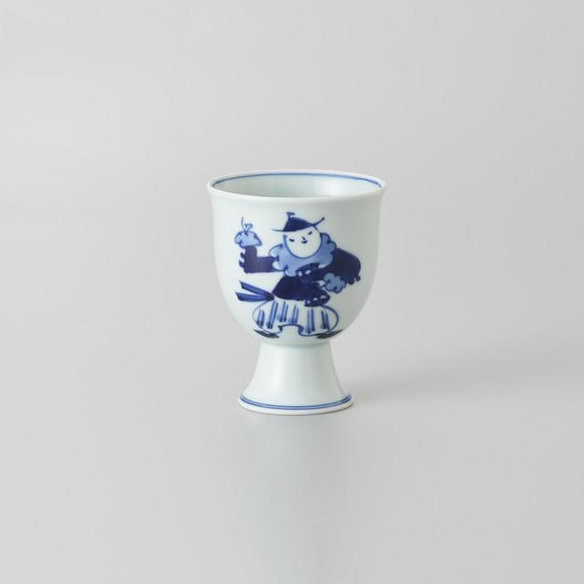 """【青花】""""Classic"""" ゴブレット(オランダ万才)"""