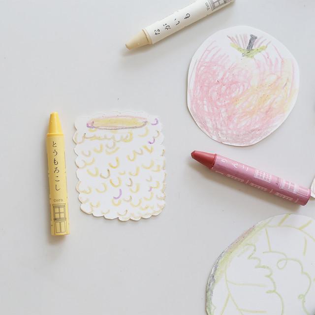 Vegetable Crayon / おやさいクレヨン