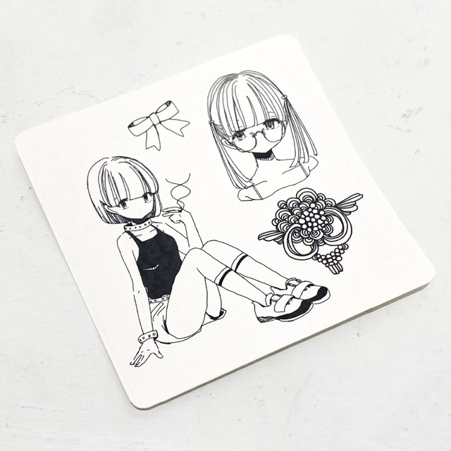 西武アキラ / CHOJIN CLUBステッカー(大)