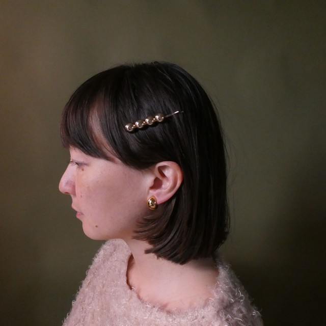 the knit + vintage collection 4 the pearl hair clip edition 8