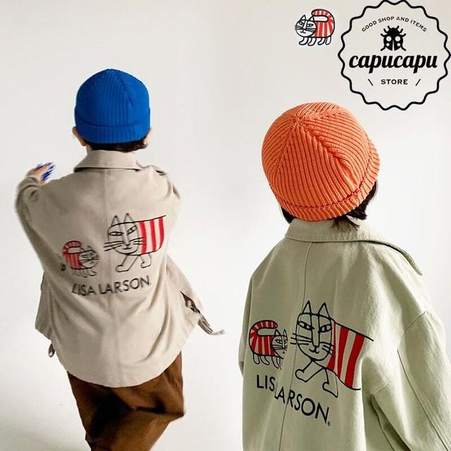 [予約] LISA LARSON Mikey spring jacket リサ・ラーソン マイキー 春 アウター リサラーソン